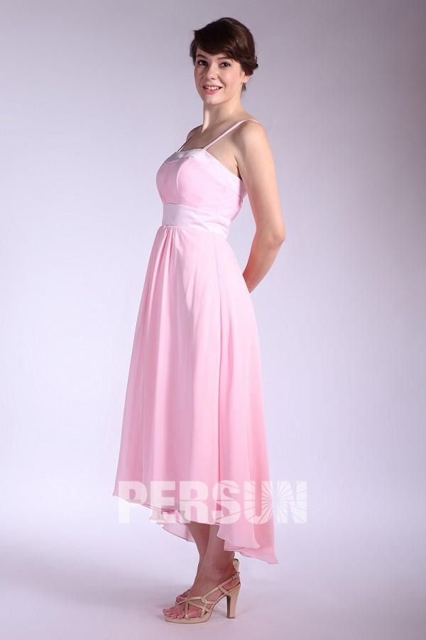 5a0728703a5 Robe mi longue rose pastel – Modèles populaires de robes
