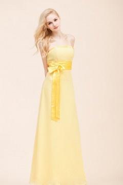 Rose-Croix robe de demoiselle d'honneur ruchée en mousseline