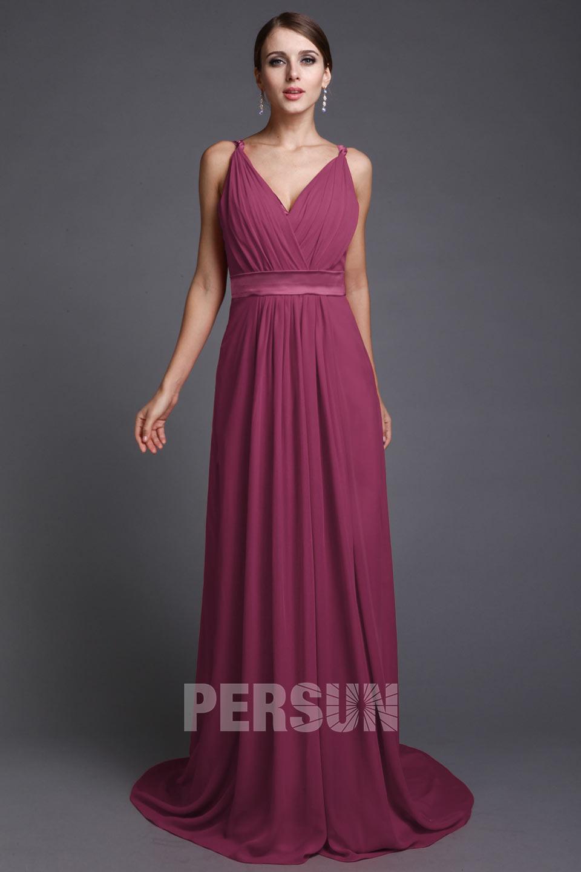 robe rouge simple pour soirée ou mariage