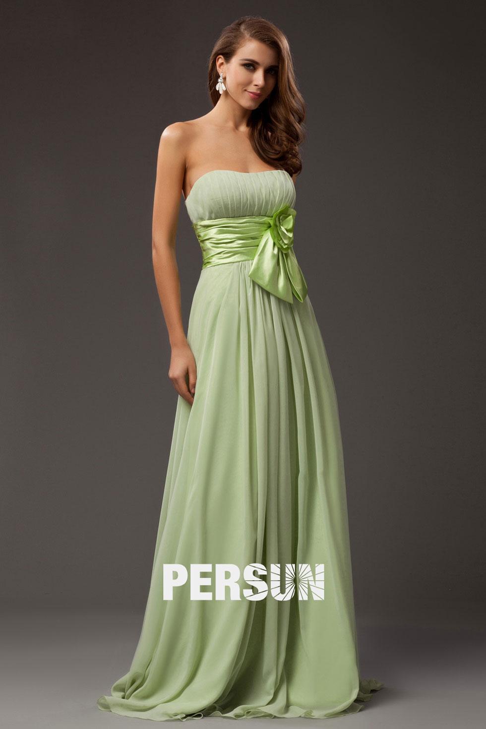 robe verte pastel pour invitée mariage