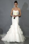 Schön Kathedralenlang Zweischichtig Wasserfall Braut Schleier