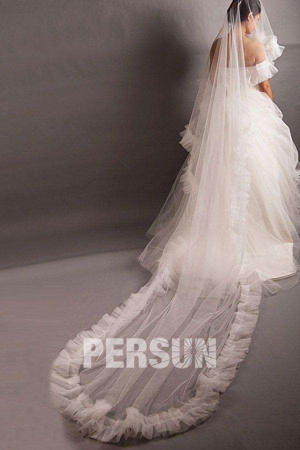 La voile longue de mariée sur le site Persun.fr