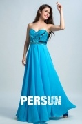 Persun Elegant Sweetheart Sequin Long Prom Gown