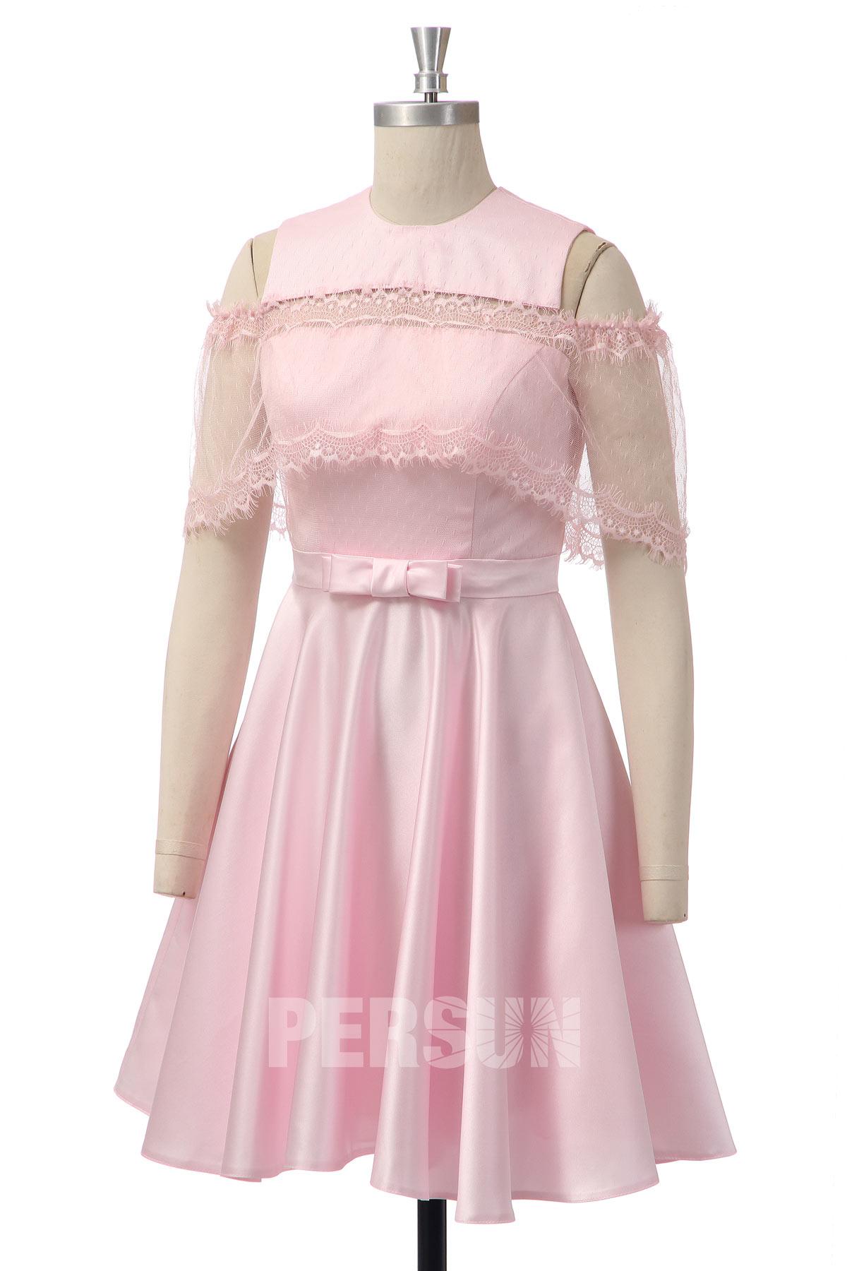 robe de cocktail rose 2020