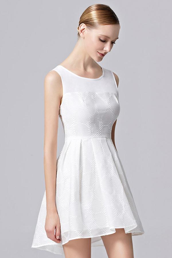 Veste blanche courte
