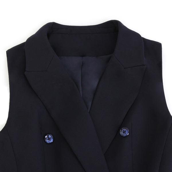 Robe chemisier bleu col v