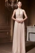 Schöne Jewel A Linie Bodenlang Ruching Abendkleider aus Tüll