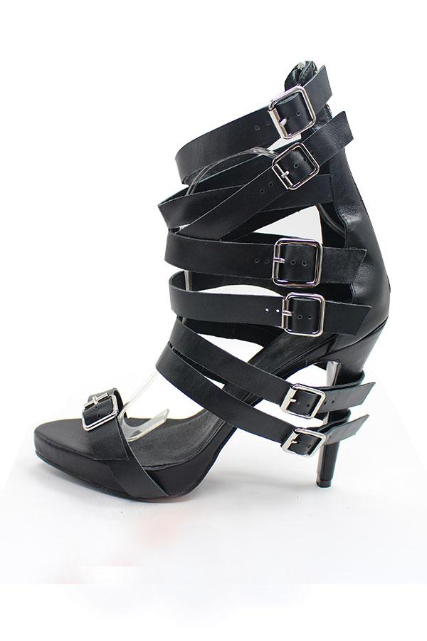 Roman style sandale à multi-boucle