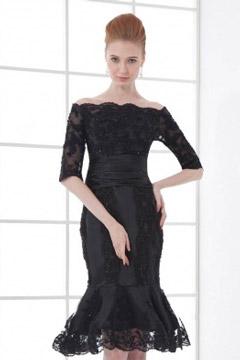 Abendkleid knielang elegant