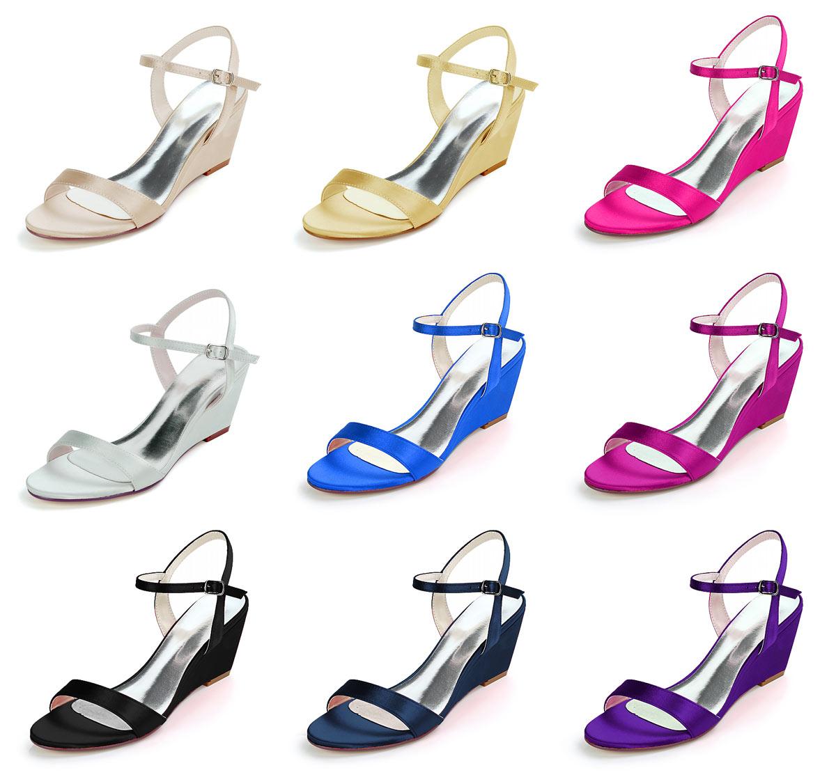 9 couleurs tendance pour sandale compensee simple