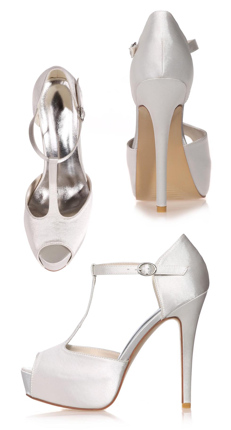 sandales style salomé talon 13 cm très haut