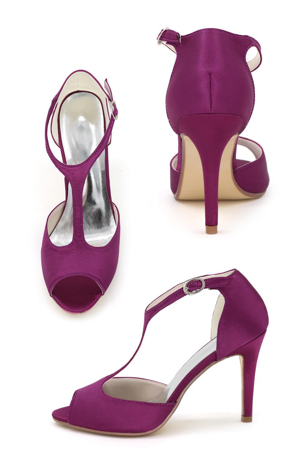 sandales simple style salomé pour aller à un mariage