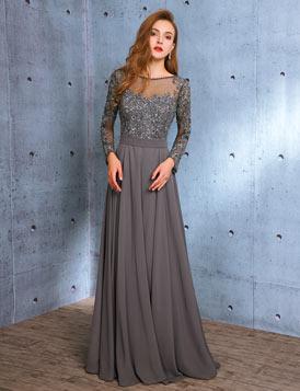 Robe de soirée longue élégante