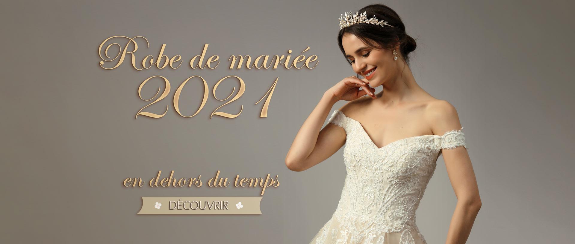 Robe de mariée 2021 Persun